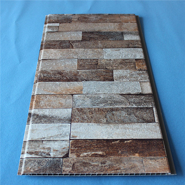 Home Building Plastic Composite Siding Panel Faux Marble Design Eco Friendly