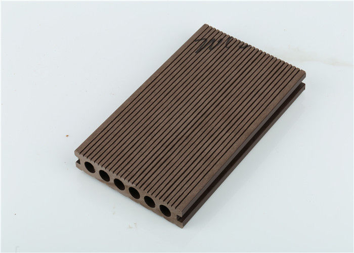 Anti Slip Wood Plastic Composite Flooring / WPC Profile / WPC Decking For Garden